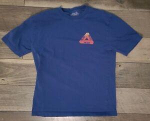 Palace Skateboards Globular Shirt SS19 Blue - Medium