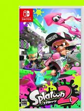 3DS Game Splatoon 2 Nintendo Switch Japan Splatoon2 soft