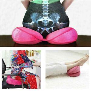 Dual Comfort Cushion Lift Hips Up Seat Cushion, Posture Correction Cushion