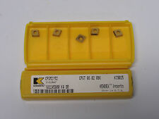 14 new KENNAMETAL CPGM2152 KC9025 Kendex Carbide Inserts CPGT 06 02 08K