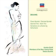 Brahms Chamber Music Andras Schiff Members of The Vienna Octet Takacs Quartet