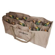 Hard Core 12-Slot Duck Decoy Bag Waterfowl Hunting Ducks Decoys Full Body New!