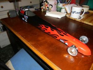 vintage  RC   rail DRAGSTER,  BOLINK,  29  in. long....EX-shelf queen....RTR !
