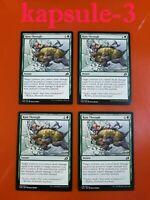 4x Ram Through | Ikoria Lair of Behemoths | MTG Magic Cards