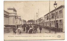 lyon exposition internationale 1914 ,avenue de paris