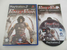 PRINCE OF PERSIA L'ÂME DU GUERRIER - SONY PLAYSTATION 2 - JEU PS2 COMPLET