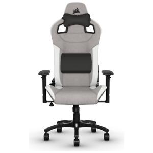 NEW Corsair T3 RUSH Gaming Chair - Grey/White CF-9010030-WW