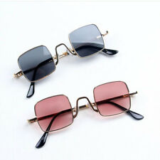 1xAnti-UV 400 Cool Toddler Goggles Metal Rack Eyeglass Square Style Sunglasses