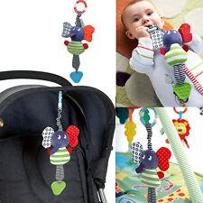 Musical Handbells Rattles Bed Stroller Bells Developmental Toys Teether Dolls