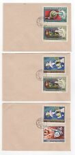 1975 HUNGARY - 3 x Covers MARS RESEARCH & UPU Issues Mixed BUDAPEST