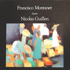 FRANCISCO MONTANER Chante Nicolas Guillen FR Press Scalen Disc MON 104 LP