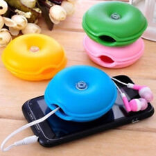 Headphone Portable Lovely Turtle Earphone Winder Wire Box Cord Cable Organizer