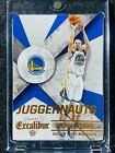 Stephen Curry - Warriors 2014-15 Panini Excalibur Juggernauts #1