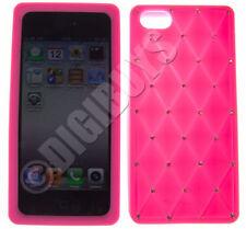Étuis, housses et coques etuis portefeuilles roses en silicone, caoutchouc, gel pour téléphone mobile et assistant personnel (PDA) Apple