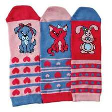 Vêtements chaussettes hautes multicolore pour fille de 2 à 16 ans