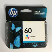 NIB HP #60 TRI COLOR INK CARTRIDGE HP60-CL-55061-A EXPIRED MAY 2013