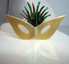 Mardi Gras Cat Eye Mask Pin (MGP11)