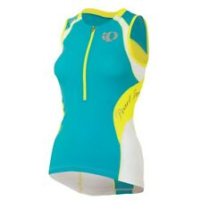 🔥Pearl Izumi Women Elite Jersey Tank Shirt Teal Size XS Cycling Tri Running NEW