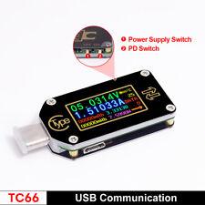 USB Tester Voltage Current Meter Type-C Multimeter Voltmeter Ammeter PD Detector