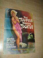 Des Teufels Nackte Tochter-U.Dietz Orginal A1 Kinoplakat