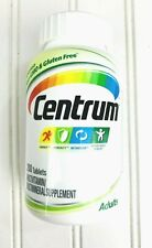 Centrum Adult Vitamin D3 Multivitamin Supplement 200 Tablets New Exp 10/2020