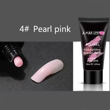 9colors Quick Poly Building GEL UV Builder Nail Tips Finger Extension Camouflage Pearl Pink