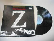LP OST Mikis Theodorakis - Z (13 Song) COLUMBIA / US PRESS