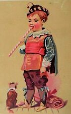 L. Solomon Clothing Furnishing Goods Child Giant Peppermint Stick Cute Dog P61