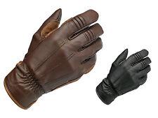Biltwell Work Leather Cruiser Custom Cafe Racer Retro Motorcycle Gloves
