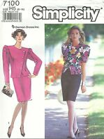 Simplicity 7100 Misses'/Miss Petite Suit-Dress   Sewing Pattern