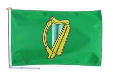 More details for leinster ireland flag with rope and toggle - various sizes