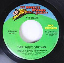 Rock 45 Neil Sedaka - Your Favorite Entertainer / Bad Blood On Mca Records