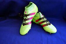 adidas ACE 16.1 Primeknit FG/AG Mens Soccer Boot AQ5151Green Pink Black Siz