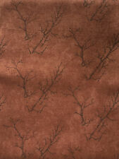 ONE HALF METRE BROWN COUNTRY ROAD QUILTING/CRAFT FABRIC HOLLY TAYLOR FOR MODA