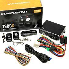 Compustar CS1900-S 2-Way One button Remote Auto Car Starter & Keyless Entry