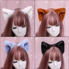 Furry Animal Ear Clips