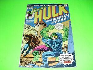 Incredible Hulk #182 FINE FN 6.0 signed Herb Trimpe w/ MVS 1974! 2nd Wolverine