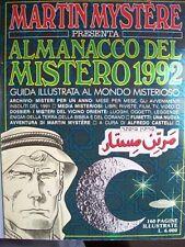 MARTIN MYSTERE ALMANACCO 1992 IMBUSTATO OTTIMO B