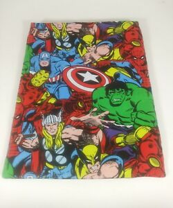Marvel Superheros Large Size Handmade Graphic Novel Comic Book Sleeve Protector