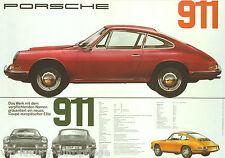 Porsche Poster 911 Technische Daten Reprint 2013 Größe: 42 x 59,5 cm