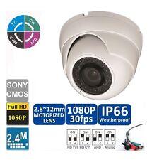 Hd-Cvi /Tvi/Ahd 1080P 2.4Mp Motorized Zoom Auto Focus 2.8-12 Vf Dome Camera