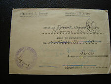 FRANCE - enveloppe franchise militaire 1936 (cy34) french