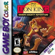 Gameboy Color juego-The Lion King: Simba 's Big Adventure (módulo)