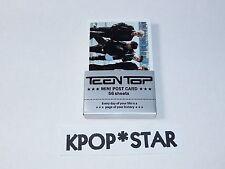 TEENTOP Teen Top Photo Mini Post Card 56 Sheets Niel Chunji CAP Ricky Changjo
