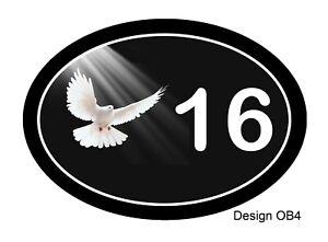 House,door,caravan name or number Bird Oval Range Plaque/sign CUSTOMISED FREE