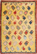 Gabbeh Teppich Orientteppich Rug Carpet Tapis Tapijt Tappeto Alfombra Boteh Rar