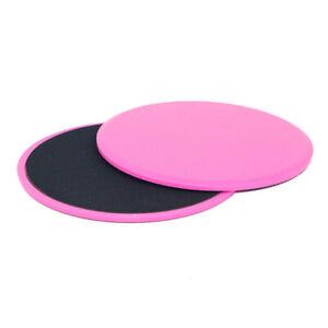 2PCS Sliders Gliding Discs Fitness Gym Core Training Exercise Sliding Plate Set
