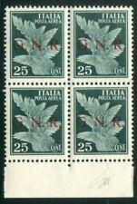 Francobolli della Repubblica Sociale Italiana (RSI) e Luogotenenza foglio
