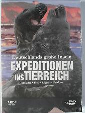 Expeditionen Ins Tierreich - Deutschlands große Inseln 4 DVD