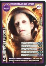 Doctor Who Monster Invasion Extreme Card #197 Foreman Cleaves's Ganger